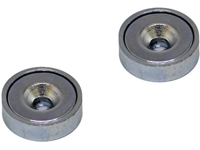 magped M100 Neodymium Magnet silver